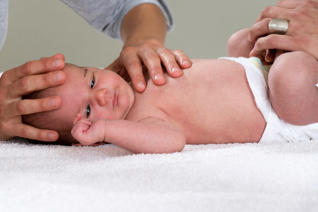 Osteopathie für Babys, Säuglinge und Kleinkinder