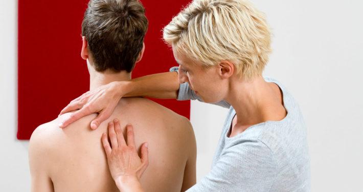 Osteopathische Behandlung der Wirbelsäule